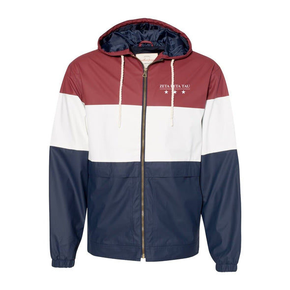 ZBT Color Block Rain Jacket
