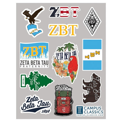 ZBT Sticker Sheet