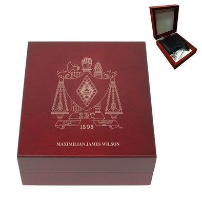 Sale! Zeta Beta Tau Personalized Rosewood Box