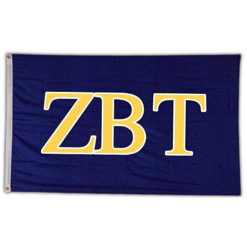Zeta Beta Tau Greek Letter Banner