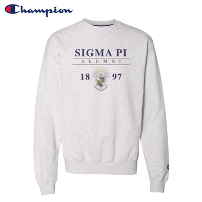 New! Sigma Pi Alumni Champion Crewneck