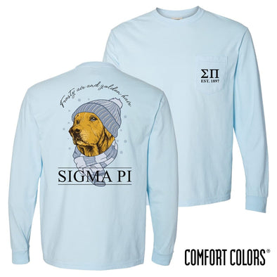 Sigma Pi Comfort Colors Winter Retriever Tee