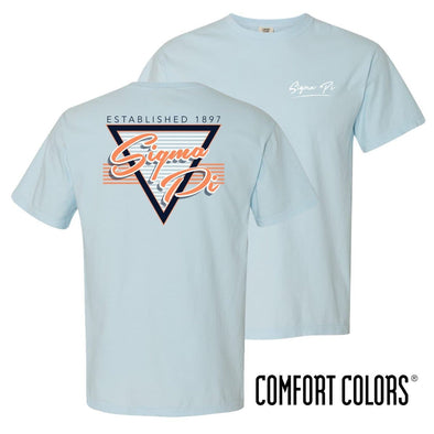 New! Sigma Pi Comfort Colors Retro Flash Tee