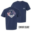 Sigma Pi Comfort Colors Short Sleeve Navy Patriot tee