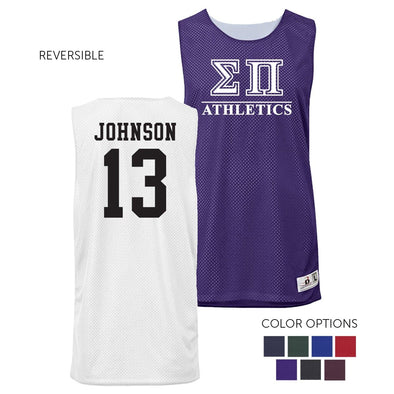 Sigma Pi Personalized Intramural Athletics Reversible Mesh Tank