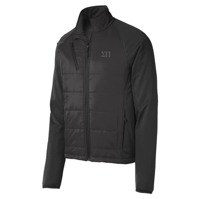 Sale! Sigma Pi Hybrid Soft Shell Jacket