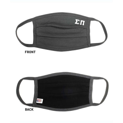 Sigma Pi Paneled Face Mask