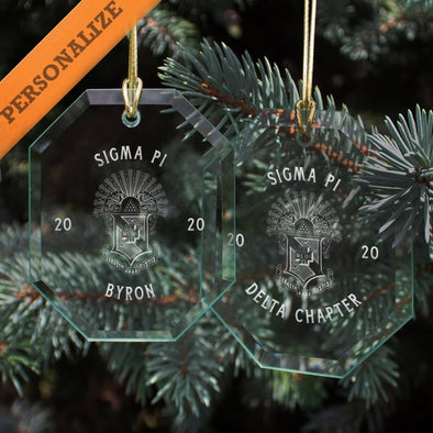 Sigma Pi 2020 Personalized Limited Edition Holiday Ornament