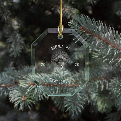 New! Sigma Pi 2020 Limited Edition Holiday Ornament