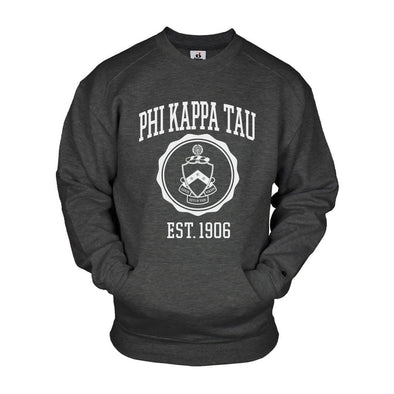 Phi Tau Pocket Crew Sweatshirt