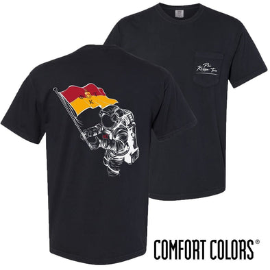 New! Phi Tau Comfort Colors Astronaut Short Sleeve Tee