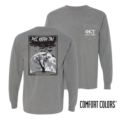 Phi Tau Halloween Night Comfort Colors Tee