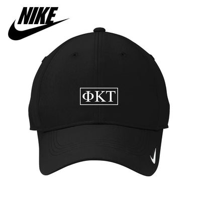 Phi Tau Black Nike Dri-FIT Performance Hat