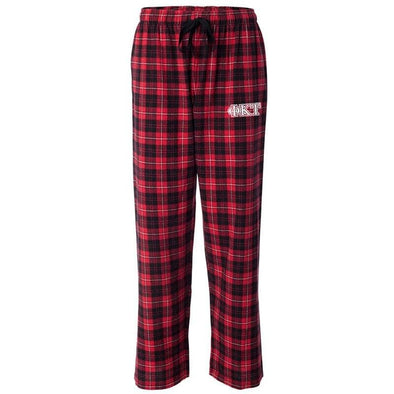 Phi Tau Red Plaid Flannel Pants