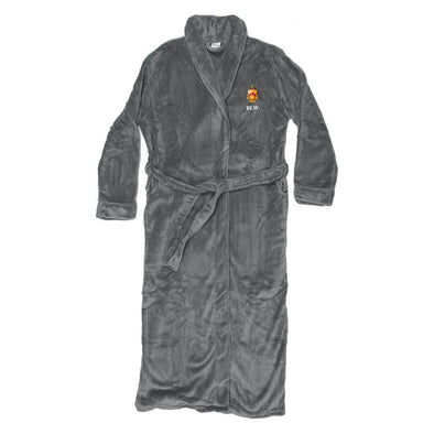 New! Phi Tau Personalized Charcoal Ultra Soft Robe
