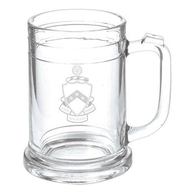 Phi Tau Keepsake Glass Mug