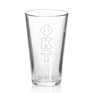 Sale! Phi Tau Engraved Fellowship Glass