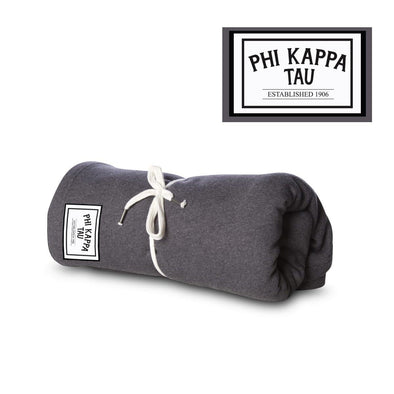 New! Phi Tau Sewn Patch Blanket