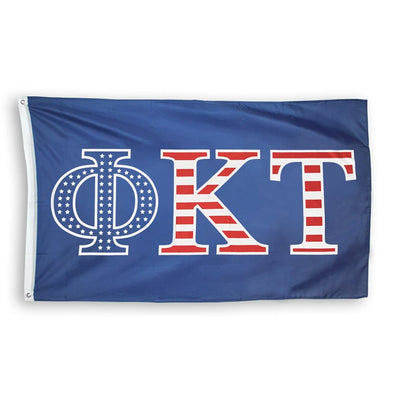 Phi Tau Stars and Stripes Flag