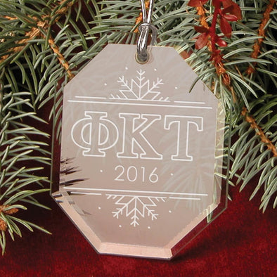Clearance Priced! Phi Tau 2016 Holiday Ornament