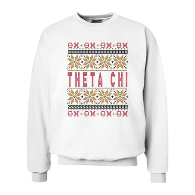 New! Theta Chi Ugly Christmas Sweater