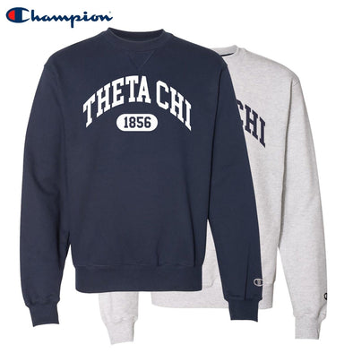 New! Theta Chi Heavyweight Champion Crewneck Sweatshirt