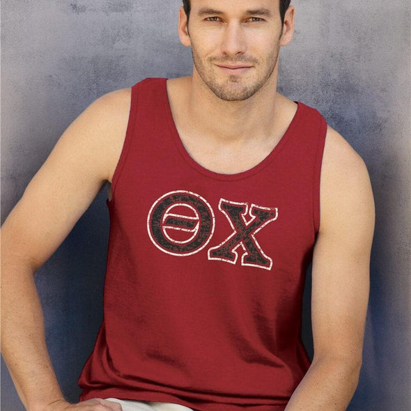 Theta Chi Red Athletic Tank Top