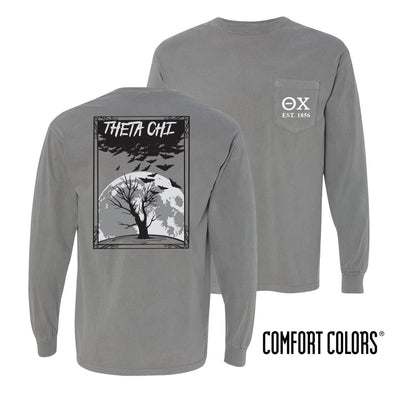 Theta Chi Halloween Night Comfort Colors Tee