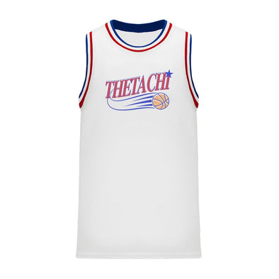 Theta Chi Retro Swish Basketball Jersey