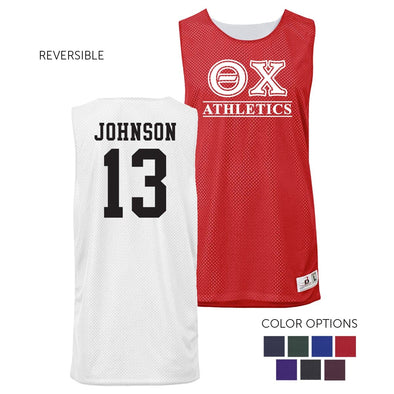 Theta Chi Personalized Intramural Athletics Reversible Mesh Tank