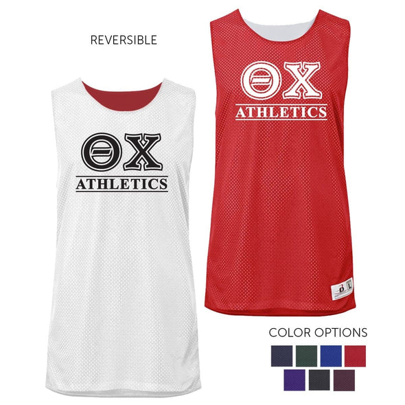 Theta Chi Intramural Athletics Reversible Mesh Tank