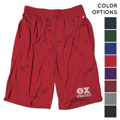 Theta Chi Intramural Athletics Pocketed Performance Shorts