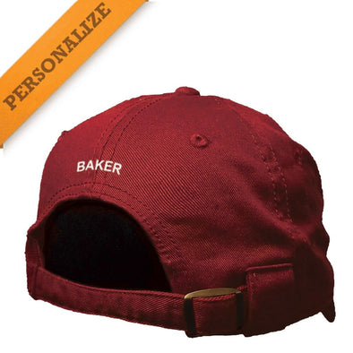 Theta Chi Vintage Red Personalized Hat By The Game®