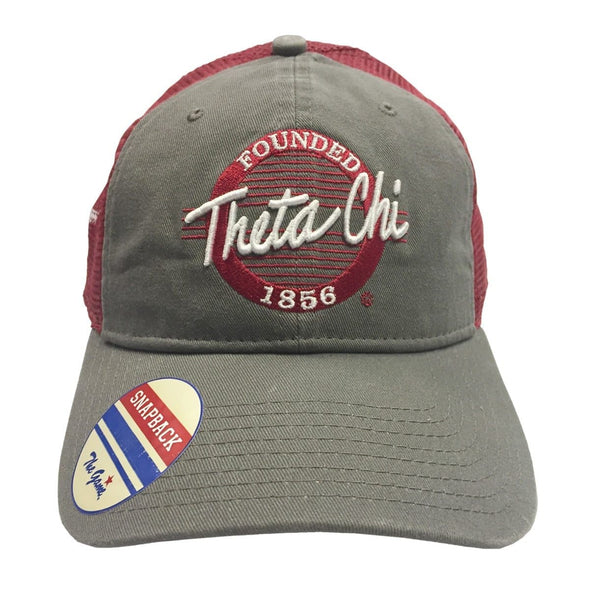 Clearance! Theta Chi Mesh Trucker Hat By The Game®