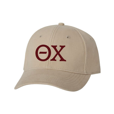 Theta Chi Structured Greek Letter Hat
