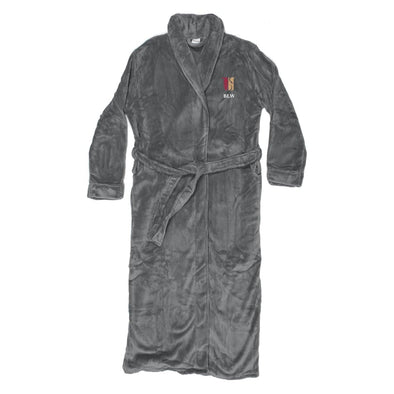 Theta Chi Personalized Charcoal Ultra Soft Robe