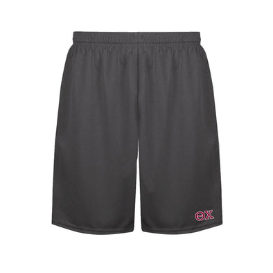 Theta Chi Charcoal Performance Shorts