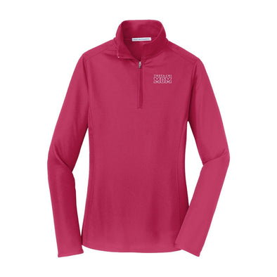 Theta Chi Mom Pink Performance 1/4 Zip