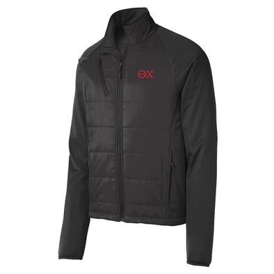 Sale! Theta Chi Hybrid Soft Shell Jacket