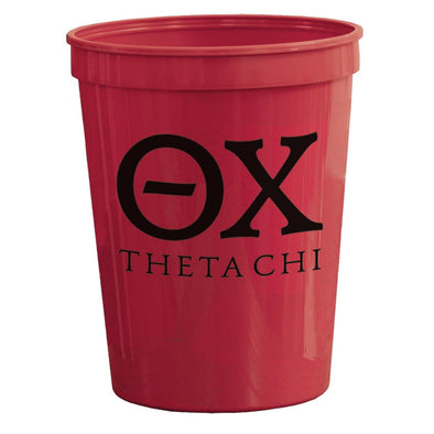 Theta Chi Red Plastic Cup