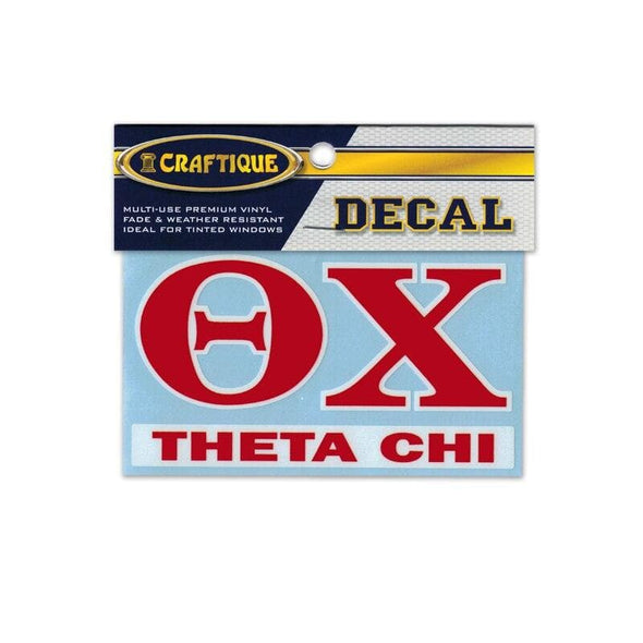 Theta Chi Greek Letter Decal