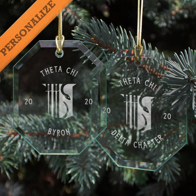 Theta Chi 2020 Personalized Limited Edition Holiday Ornament