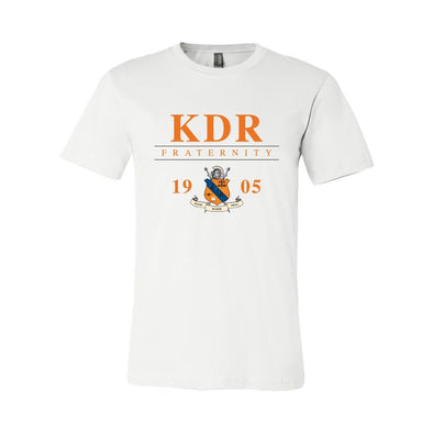 KDR Classic Crest Short Sleeve Tee