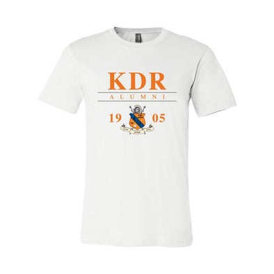 New! KDR Alumni Crest Short Sleeve Tee