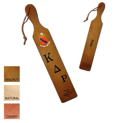 Kappa Delta Rho Personalized Traditional Paddle