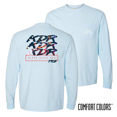 KDR Comfort Colors Chambray Long Sleeve Urban Tee
