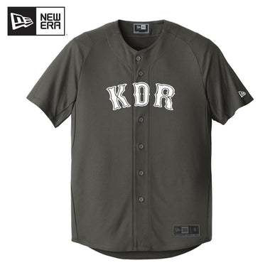 KDR New Era Graphite Baseball Jersey