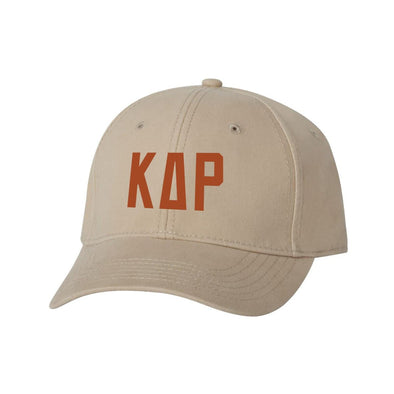 KDR Structured Greek Letter Hat