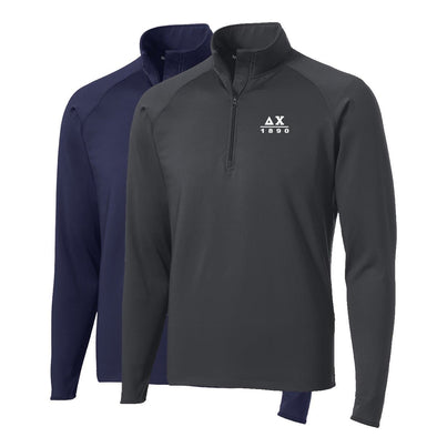 Delta Chi Performance Essential Quarter-Zip Pullover