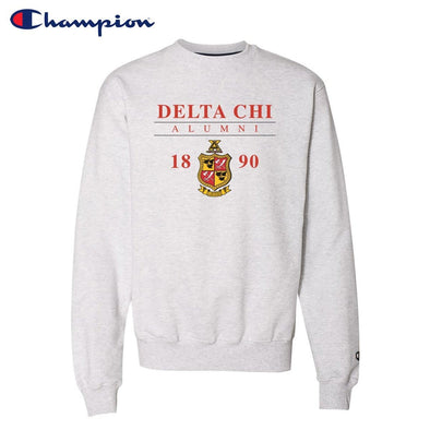 New! Delta Chi Alumni Champion Crewneck